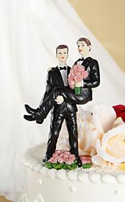 toppers עוגת עוגת צילינדר פסלון אהבה מתוקה