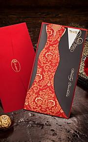 """""""Chinese-style Clothing"""" Wedding Invitations - Set of 50"""