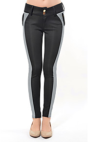 Women's Casual Skinny Pants , Cotton Blends Stretchy
