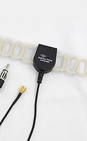 i bil forstærket radio DVB-T ATSC antenne fm sma stik 4.5m ledning