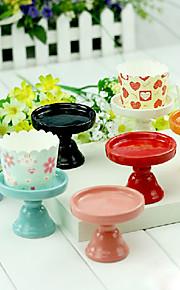 Table deocrations de table stand maîtresses céramiques de petit gâteau (plus de couleurs)