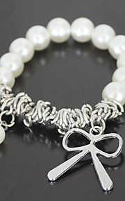 Pulseras y Brazaletes Encanto/Brazalete personalizado de abalorios Aleación Perla artificial De mujeres