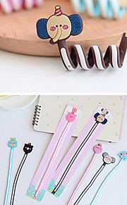 Cute Animal Family Series Cable Winder(Random Color)