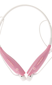 hbs700 hoofdtelefoon bluetooth in de gehoorgang met microfoon (roze) voor mobiele telefoon