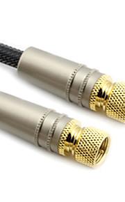 C-Cable F-Type cavo coassiale M / M per HD Digital-TV (1M)