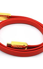 C-Cavo HDMI 1.4 maschio-maschio cavo TV-Type Red 3D HD TV (5M)