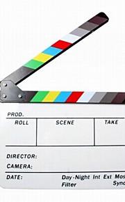 plastique acrylique film de bardeau de directeur sec d'effacement (9.85x11.8 pouces) avec des bâtons de couleurs