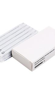 100 Pcs Disposable Sterile Tattoo Needles Mix Sizes