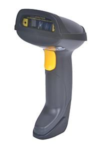 Wireless Blue tooth Handheld Laser Barcode Scanner Gun - Black