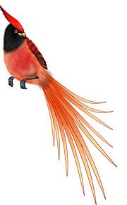 Farverige Bird Mønster Dekorative Bil Klistermærke