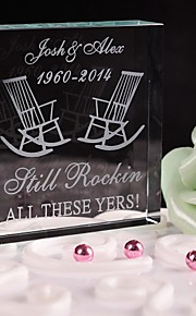 Décorations de Gâteaux Personnalisé Cristal Commémoration / Fête prénuptiale / Fête de naissance / Bonbon seize / Anniversaire / Mariage