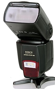 EOSCN ES-560 Universele flitser met Vulling lichtfunctie voor Canon, Nikon, Pentax, Olympus - Zwart