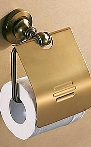 Antique Copper Alumimum toilettes porteurs de papier