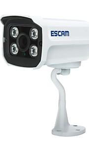 Escam baksteen qd300 h.264 dual stream 3.6mm dag / nacht waterdichte ip camera, ondersteuning voor mobiele detectie