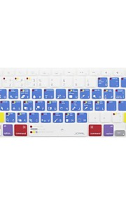 JCPAL ® Macbook Pro Keyboard Protector Macbook Photoshop raccourcis silicone