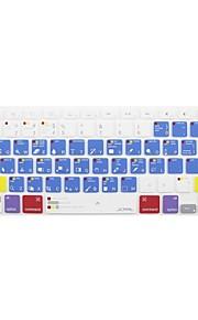 JCPAL ® Macbook Pro Macbook Photoshop Sneltoetsen siliconen toetsenbord beschermer