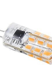 g4 2W 288lm 24x2835smd chaude lumière blanche / froid led ampoule de maïs (220v)