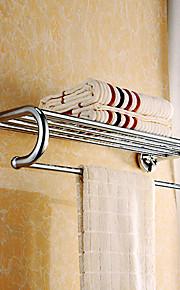 タオルバー、全部で5つのバーとソリッドブラス26インチのバスルーム棚