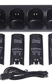 Batterie e caricabatterie Plastica - Nintendo Wii - USB - Ricaricabile/Altro