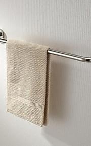 Aço inoxidável acabamento polido brilhante única barra de toalha