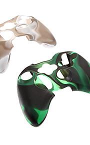 2 stuks Camouflage beschermende siliconen skin voor de Xbox360-controller