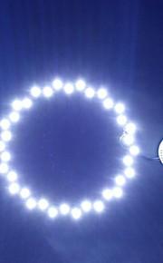 18W 6500K 36LED White Light Round Ceiling Lamp Source Module