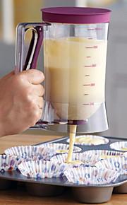 торт тесто диспенсер для измерения этикетки, 4 чашки