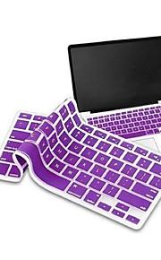 """elonbo copertura della tastiera del silicone per macbook air / pro con display retina da 13 """"15"""" 17 """"(colori assortiti)"""