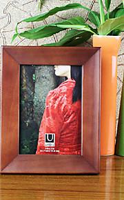 """4 """"x 6"""" estilo sencillo patrón de marco de madera foto"""
