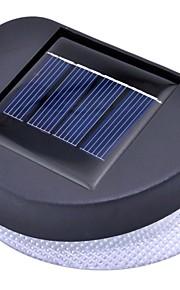 la lumière solaire de mur de clôture avec 8 leds lumineuses