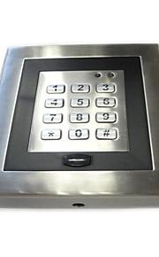 standalone em kort metal adgangskontrolsystem med tastatur, blå baggrundsbelysning, vejr-bevis til py-AC90