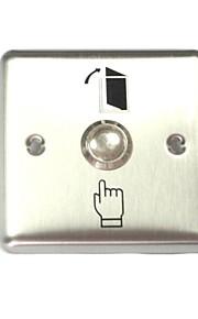 høj kvalitet dør exit knap skubbe rustfrit stål firkantet kontakt til py-DB5