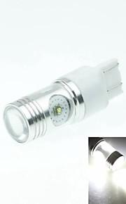 7443 w21 21w w3x16q Cree XP-e conduit 20w 1300-1600lm 6500-7500k ac / DC12V-24 tour lumière -silver blanc transparent
