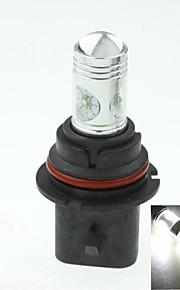 9004 hb1 p29t Cree XP-e conduit 20w 1300-1600lm 6500-7500k ac / DC12V-24 brouillard blanc - argent noir