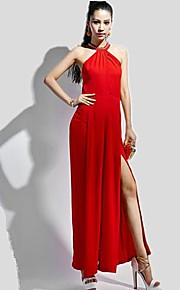 Women's Red Jumpsuits , Sexy/Party Sleeveless