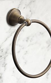 anneau de serviette, laiton antique finition mural, accessoire de salle de bain (1018-j-29-5)