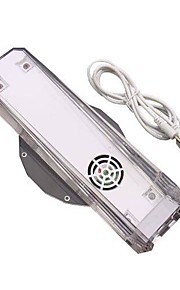 bærbar blå LED lys ventilator køler dock stå til Nintendo Wii konsol