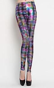 Women Print Legging , Polyester Medium