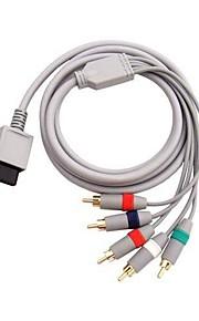 komponens kábel kábel AV kábel HDTV / EDTV nagyfelbontású 480p a Nintendo Wii