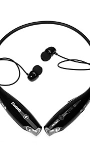 hv-800 bluetooth stereo headset música banda para el cuello inalámbrico universal para los teléfonos móviles