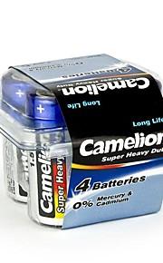 camelion super zware c formaat batterij in plastic doos van 4 stuks