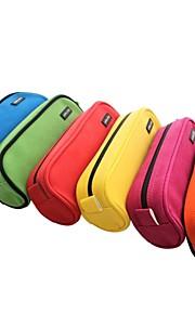uslon® pu flerfarvet blød slidbestandige u pen taske