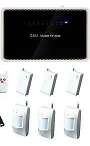 6 draadloze zonehome draadloze Intellignet gsm alarmsysteem