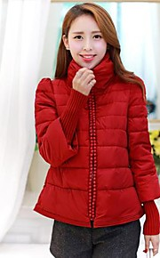 DaZhongJie®Cultivate one's morality plain lady down jacket  5810