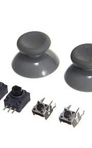 vervangende 3d rocker joystick voor de Xbox 360 lb / rb& lt / rt& paddestoel