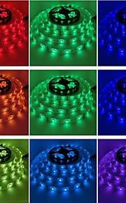 150 lys 72w vanntett 5050smd ledet stripe lys rgb 5m