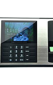 Danmini A7 4,3 tommer TFT Fingerprint Anerkende tid fremmøde