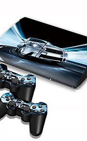 б-Skin® PS3 Slim 4000 консоли защитная наклейка крышка кожи наклейка контроллер кожи