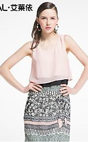 Women's Pink/Green Dress , Bodycon/Casual Sleeveless