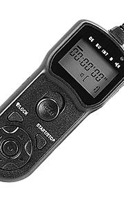 JJC tm-d timer trådløs udløser fjernbetjeningskabel til Panasonic GX7 fz200 GH4 GX1 G6